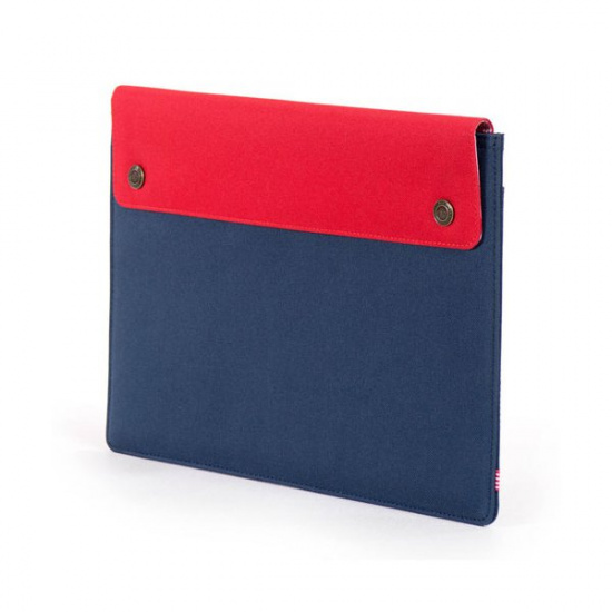 Puzdro Spokane Sleeve for 11 inch MacBook Navy/Red