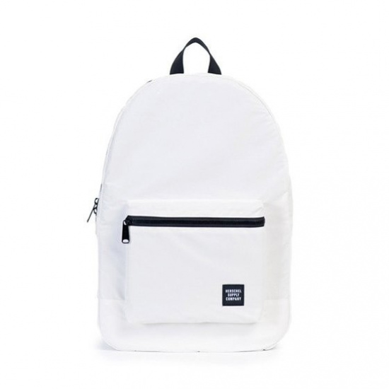 Packable Daypack White Reflective