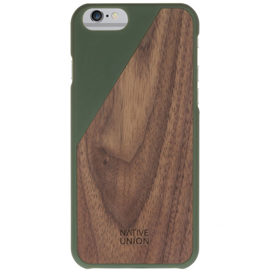 Kryt na iPhone 6 – Clic Wooden Olive