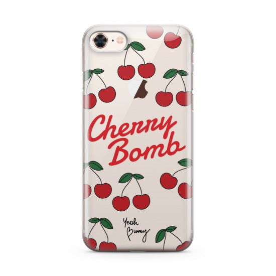 Kryt na iPhone 6 / 6s / 7 / 8 – Cherry Bomb