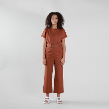 Hnedý overal – Maria Jumpsuit