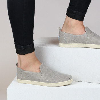 Šedé slip on – Jute Deconstructed Alpargatas