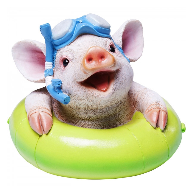 KARE DESIGN Sada 2 ks − Pokladnička Floating Pig